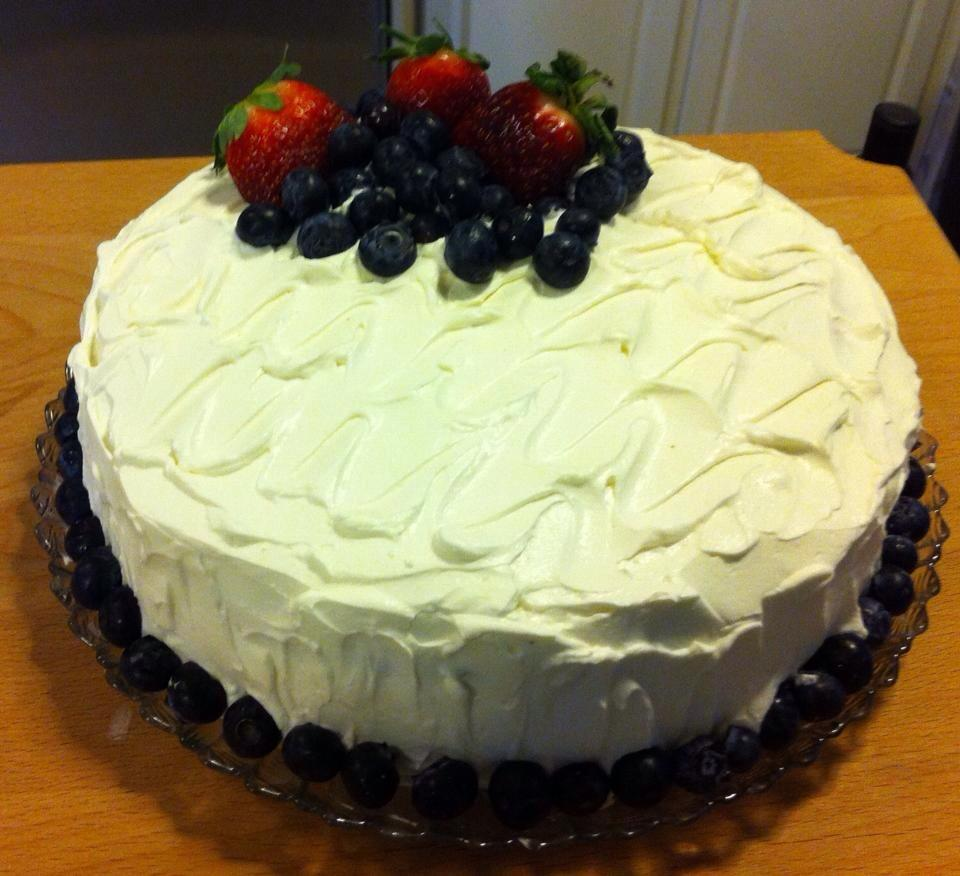 Very Berry Chantilly Cake Adult Birthday
