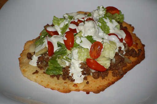 Garlic Cheese Pizza Crust (Grain Free)