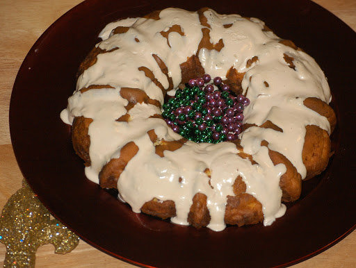 **World's First Grain & Sugar-Free King Cake** (with Dairy-Free Option)
