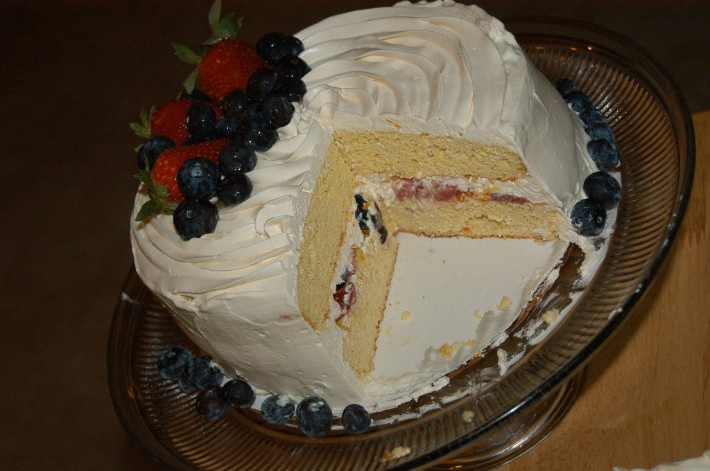 Very Berry Chantilly Cake (Adult Birthday Cake)