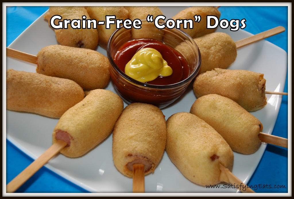 The Grain Free Corn Dog
