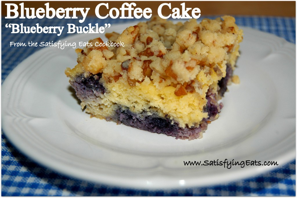 Blueberry Coffee Cake (Blueberry Buckle)