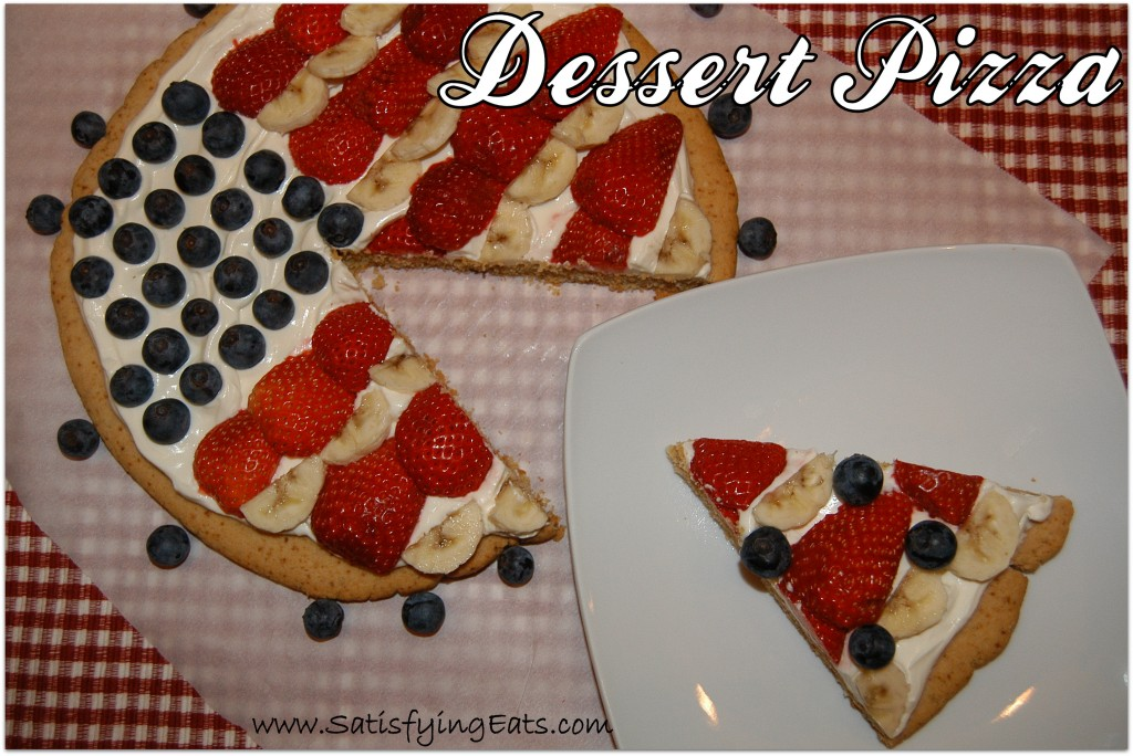 Happy Fourth of July….Dessert Pizza