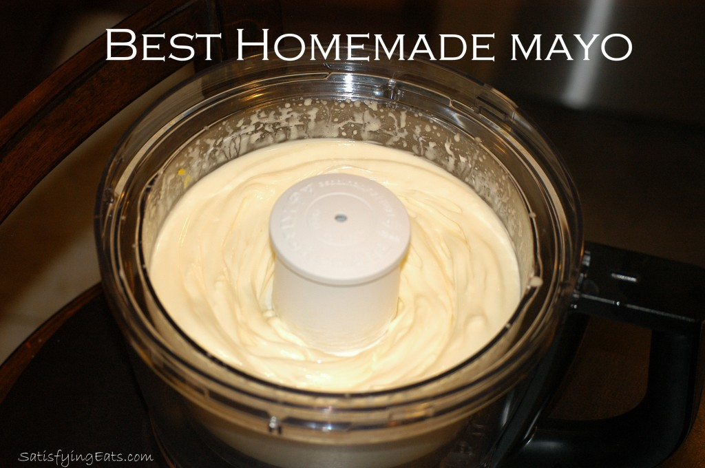 BEST Homemade Mayo