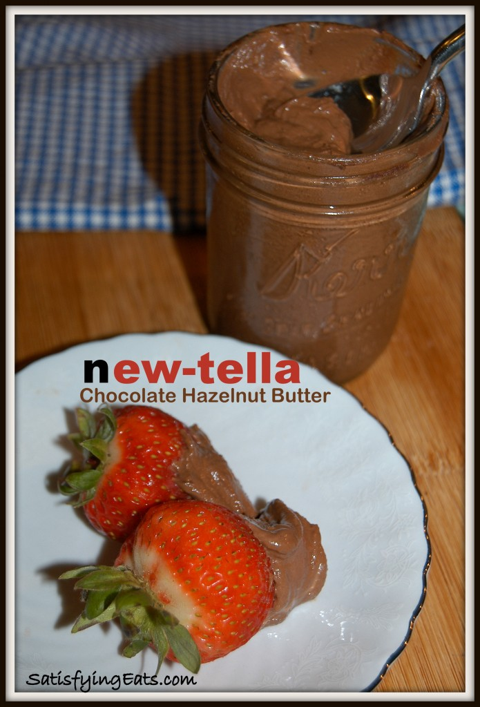 New-tella Chocolate Hazelnut Butter