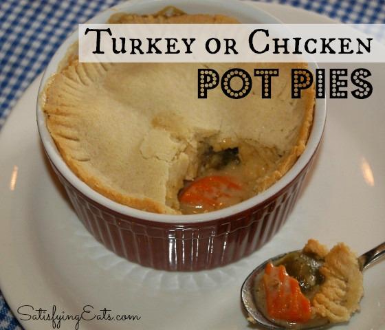 chicken pot pie (Small) turkey