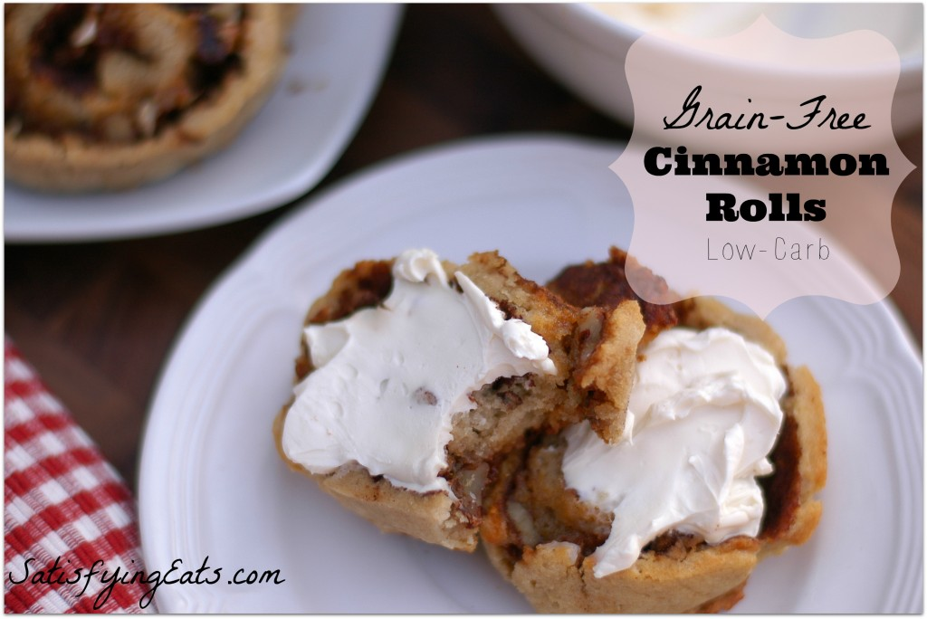 Grain-Free Cinnamon Rolls with Cream Cheese Frosting