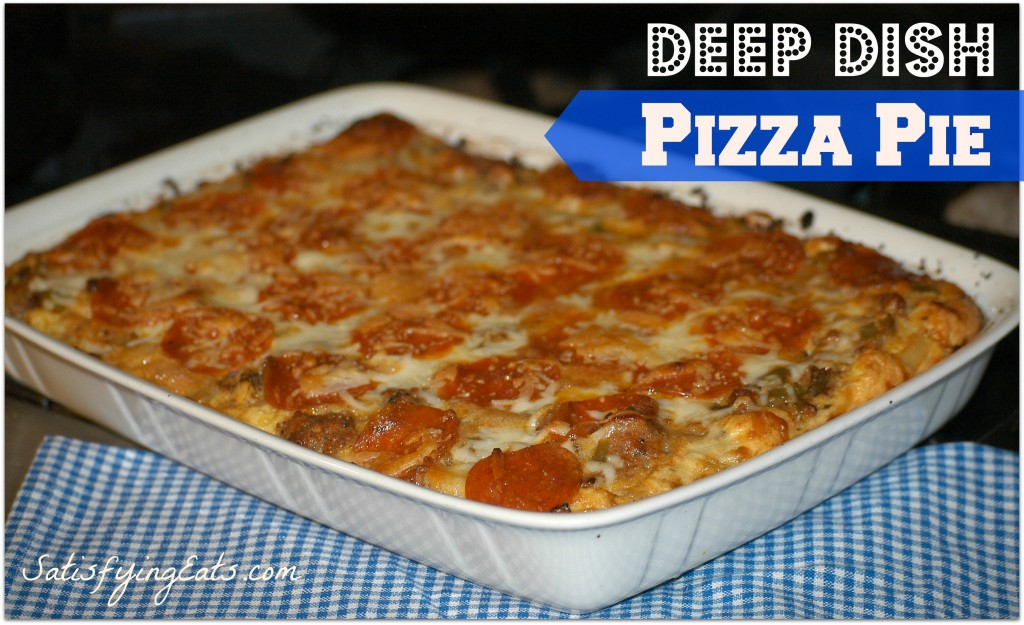 Easy Deep-Dish Pizza Pie
