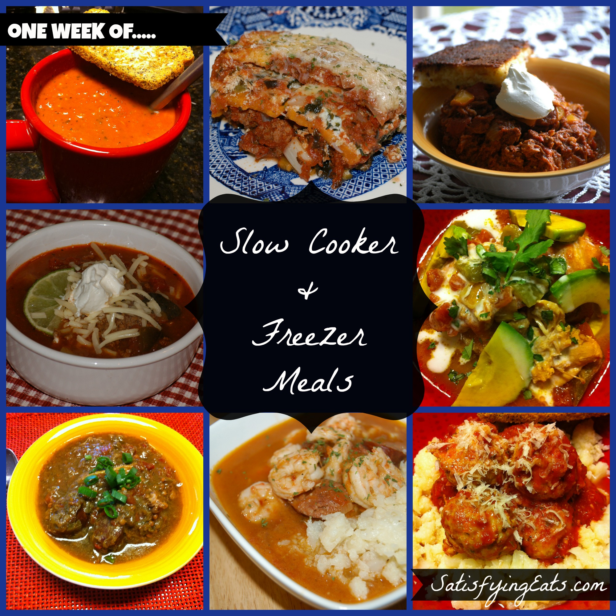 Slow Cooker Dinners: 40 Slow Cooker & Freezer Meals