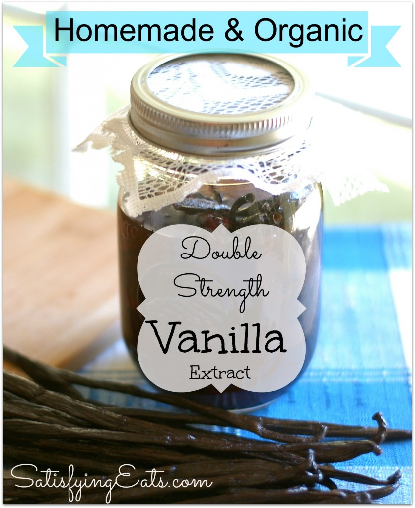 Homemade Double-Strength Vanilla Extract