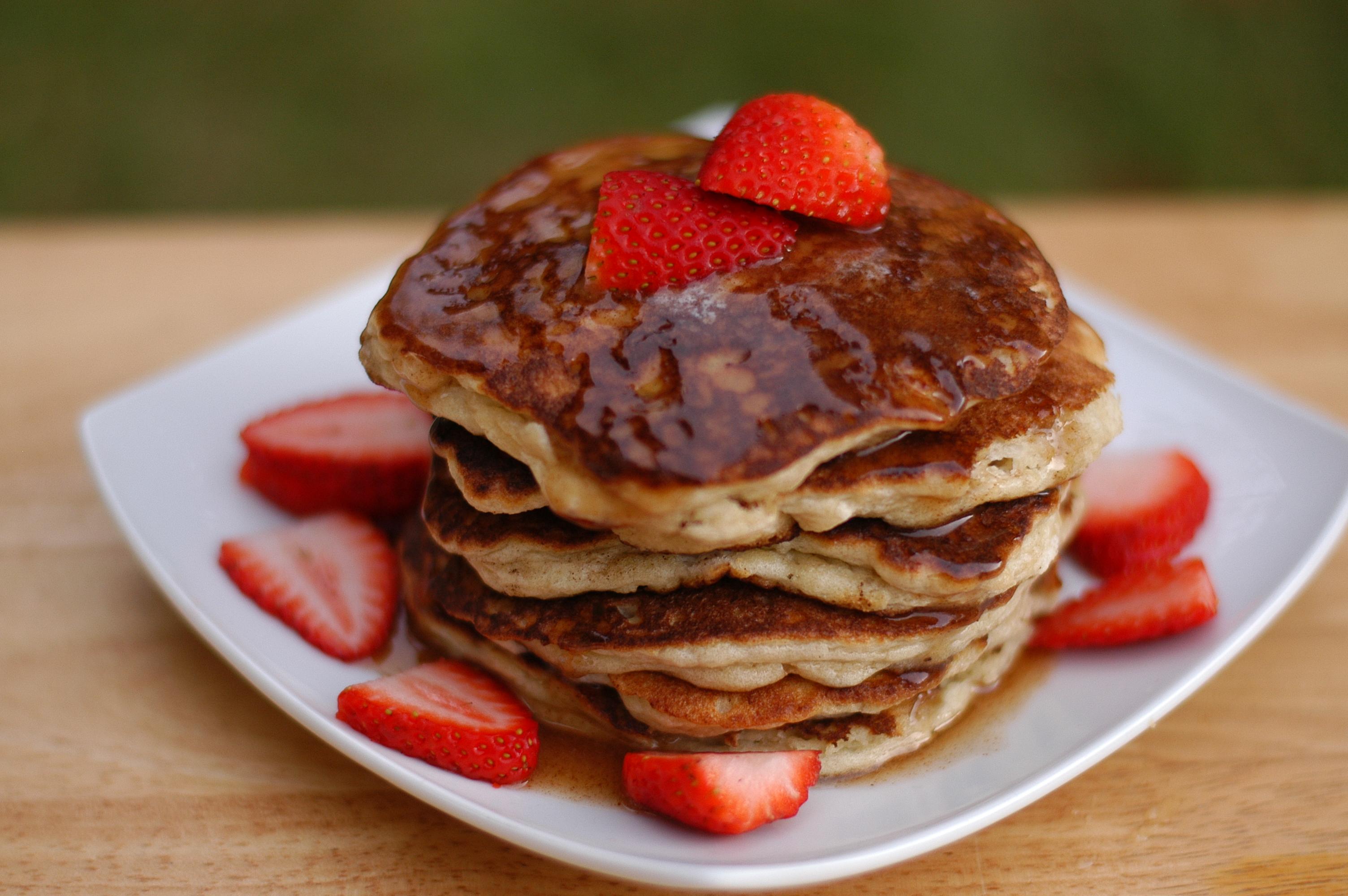 Fluffy Pancakes Recipe — Dishmaps