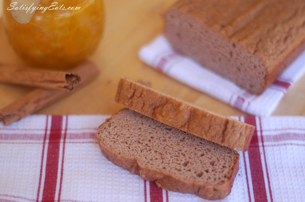 Cinnamon Bread (Grain-Free, Nut-Free, Sugar-Free & Low-Carb)