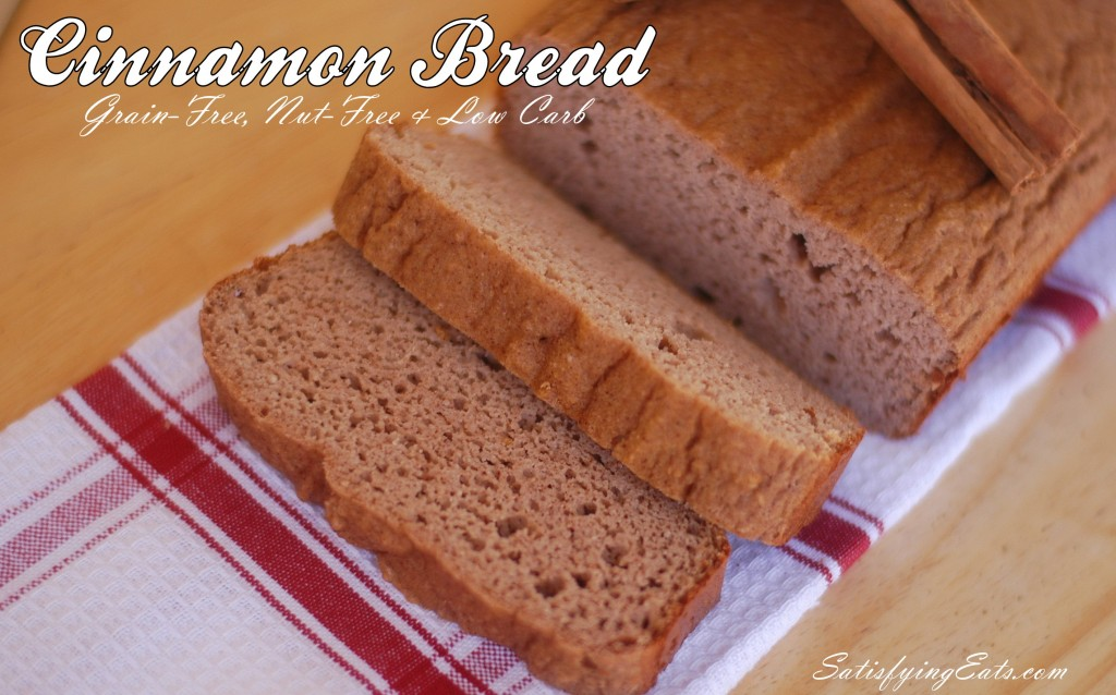 Cinnamon Bread Grain free bread grain free bread recipes gluten free bread gluten free bread recipes paleo bread paleo bread recipes Most popular Pinterest. DAILY Updates ☺♥☺ #carbswitch carbswitch,com Please Repin :)