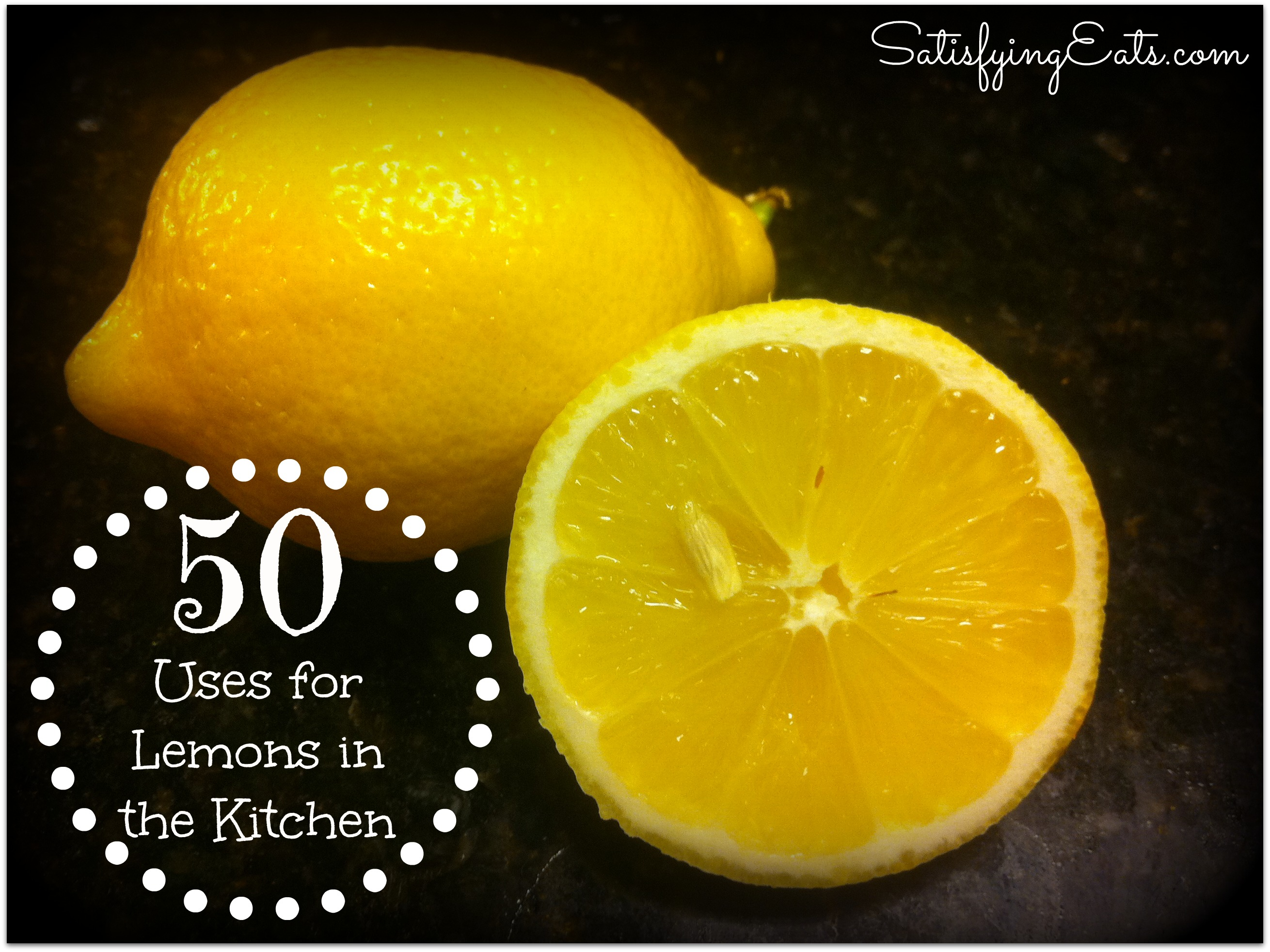 50 Uses for Lemons in the Kitchen