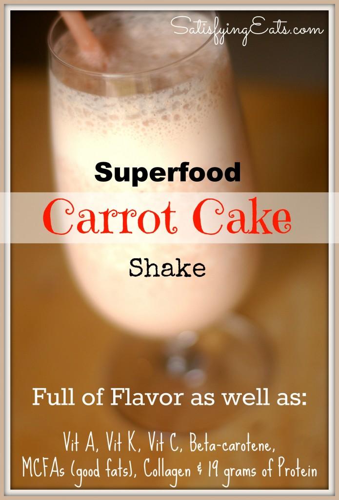 Carrot Cake Shake