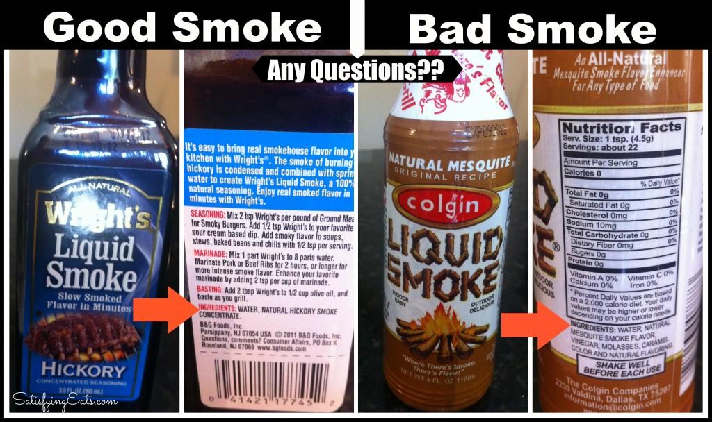 good smoke, bad smoke