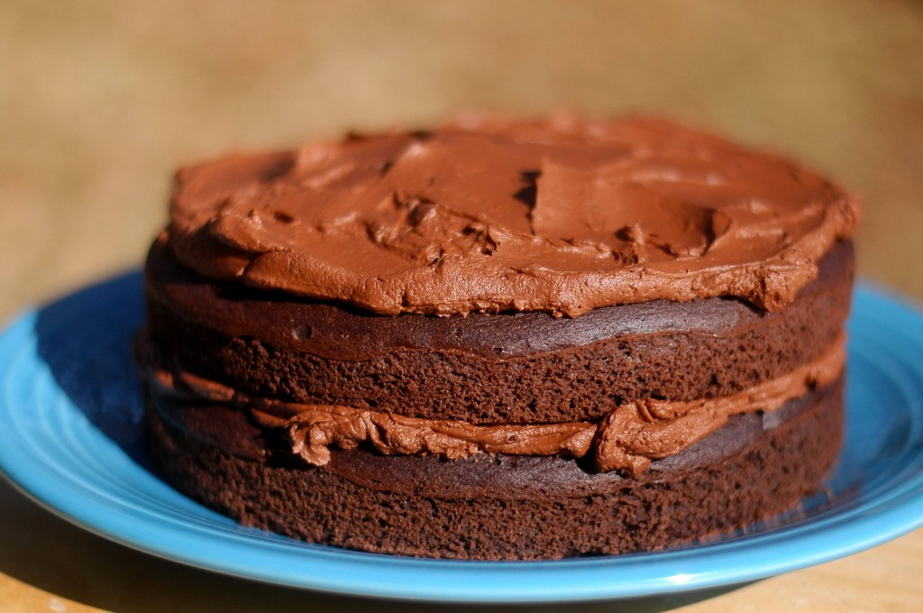 World's Best Chocolate Birthday Cake