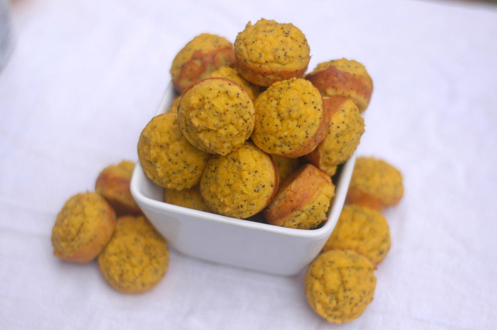 Lemon Poppy Seed Poppers