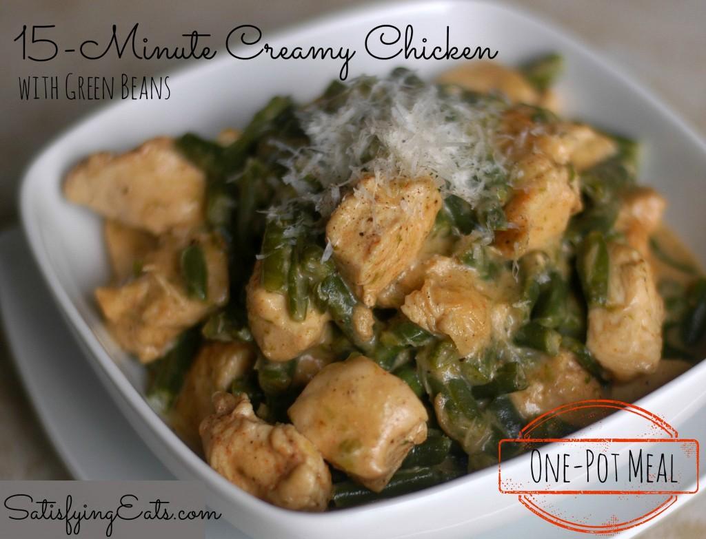 15-Minute Creamy Chicken