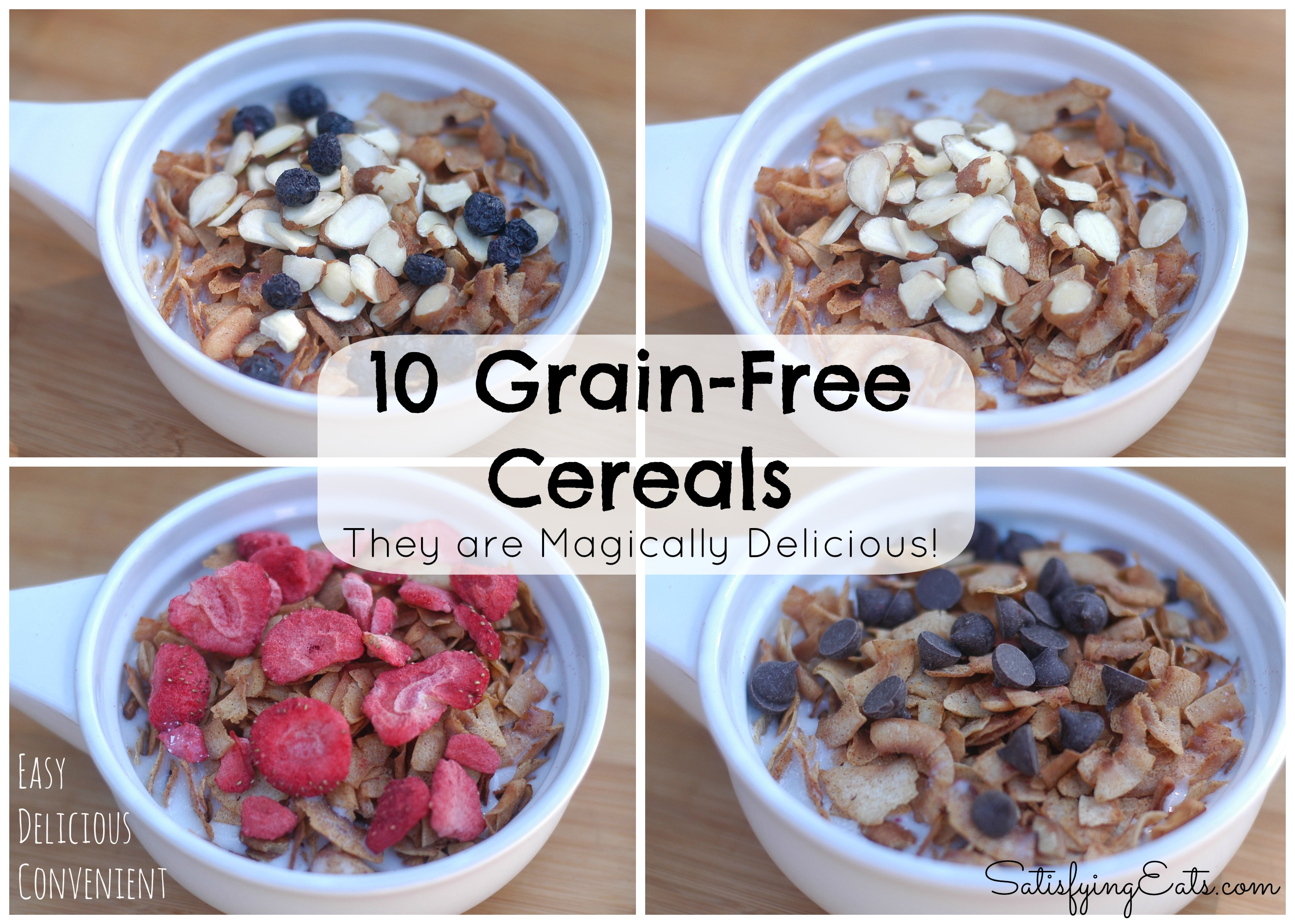 10 grain free cereal recipes more breakfast ideas ccuart Choice Image