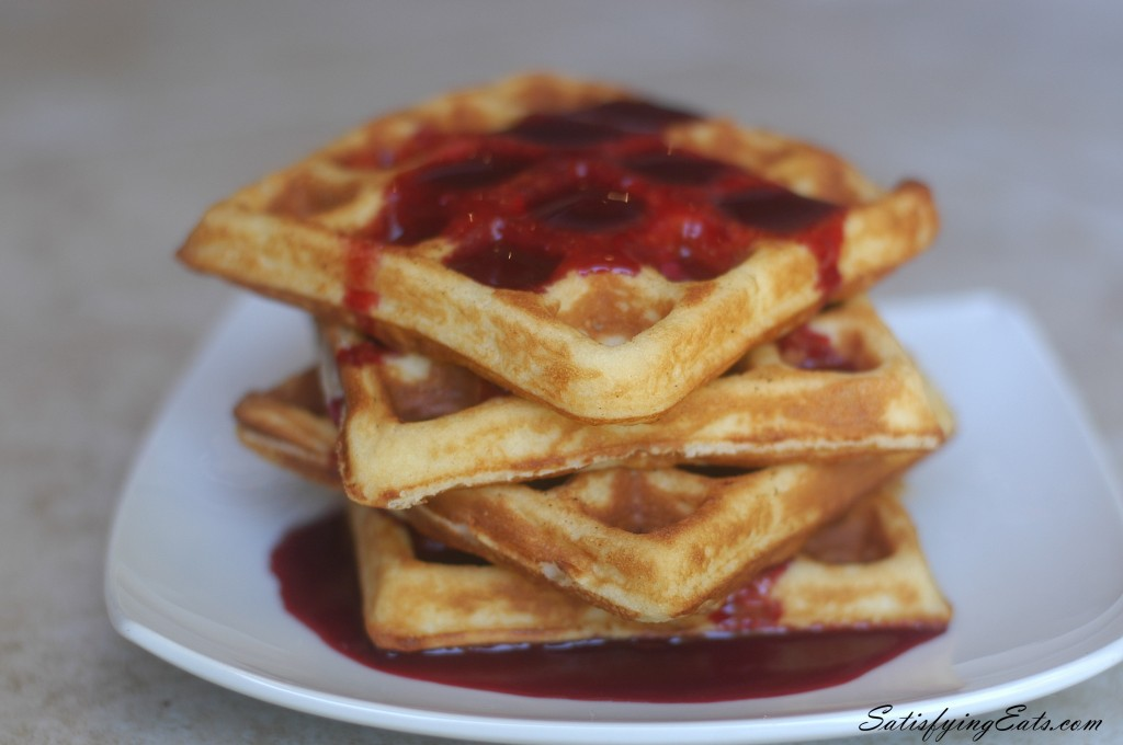 Crunchy Waffles (Grain-Free & Low-Carb with Nut & Dairy-Free Options)