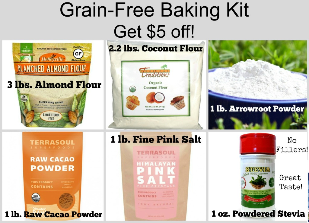 Grain-Free Starter Kit Sale update-1-12-15
