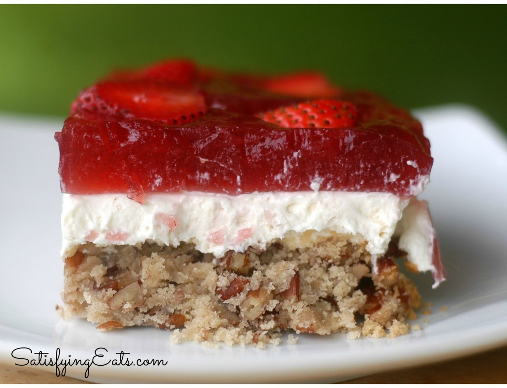 Strawberry Pretzel Salad Recipe — Dishmaps