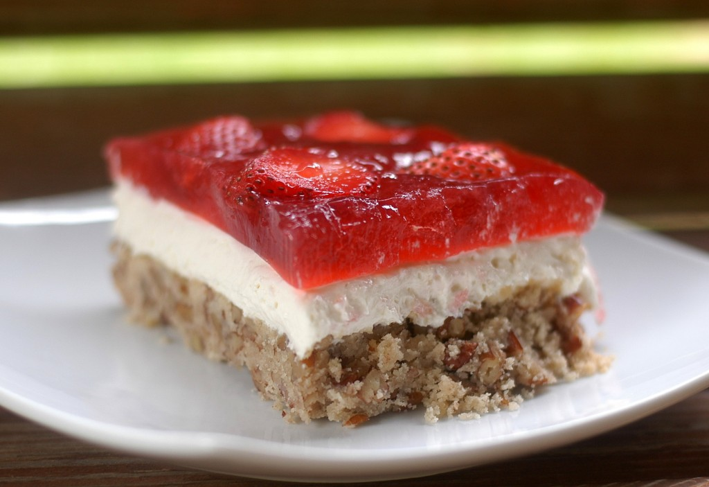 "Amazing Strawberry ""Pretzel"" Salad"