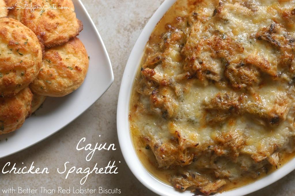 Cajun Chicken Spaghetti