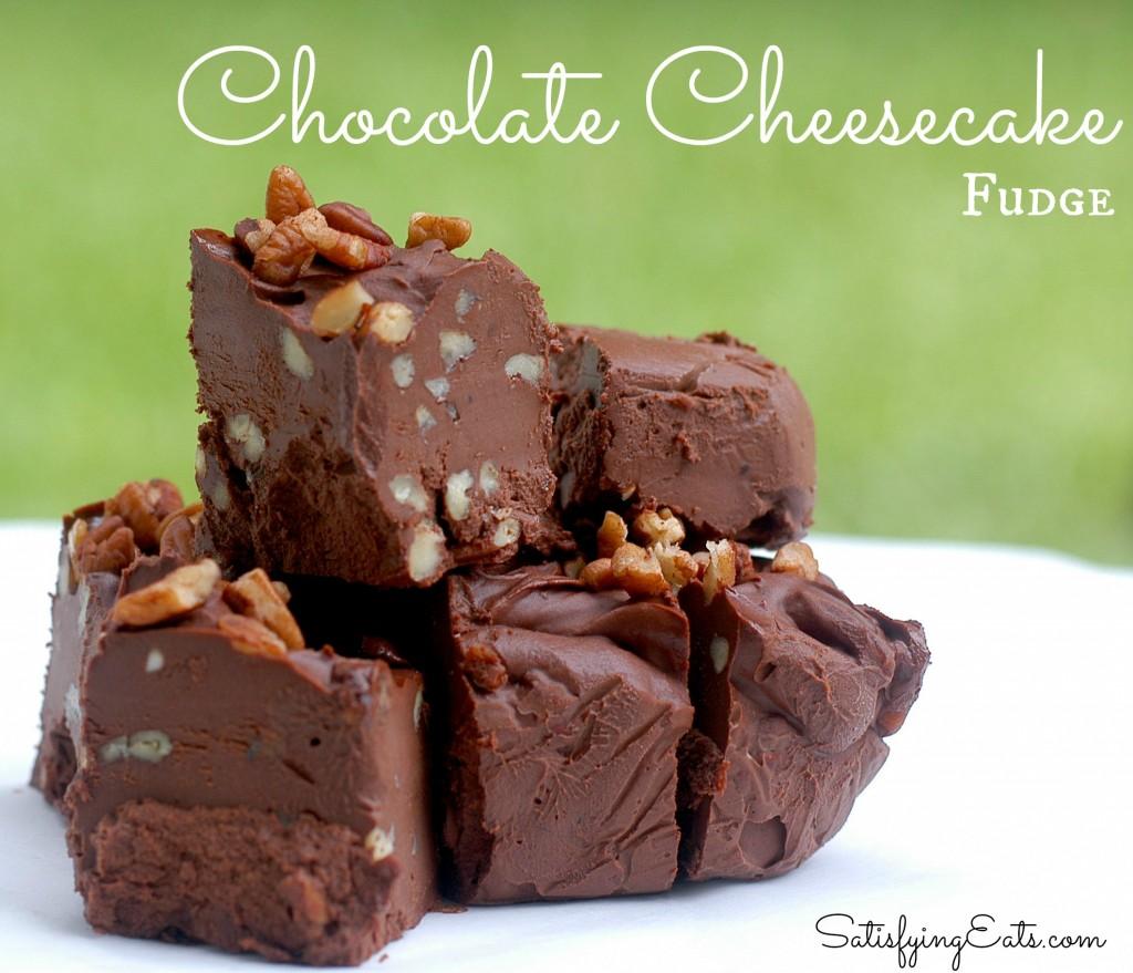 Chocolate Cheesecake Fudge