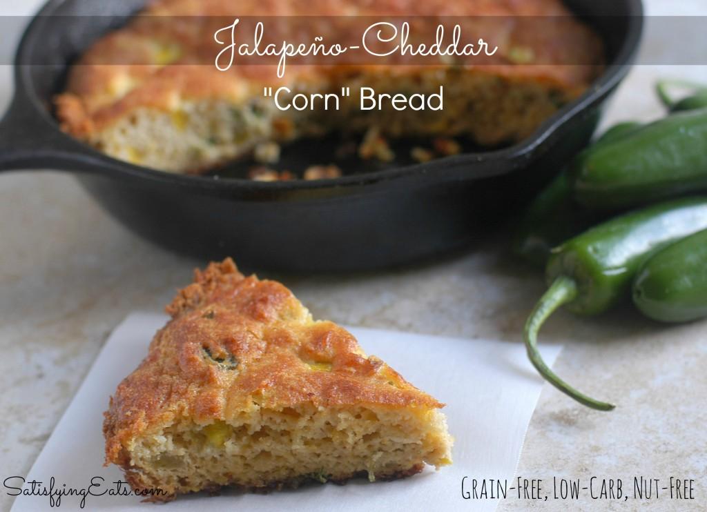 "Jalapeno-Cheddar ""Corn"" Bread"
