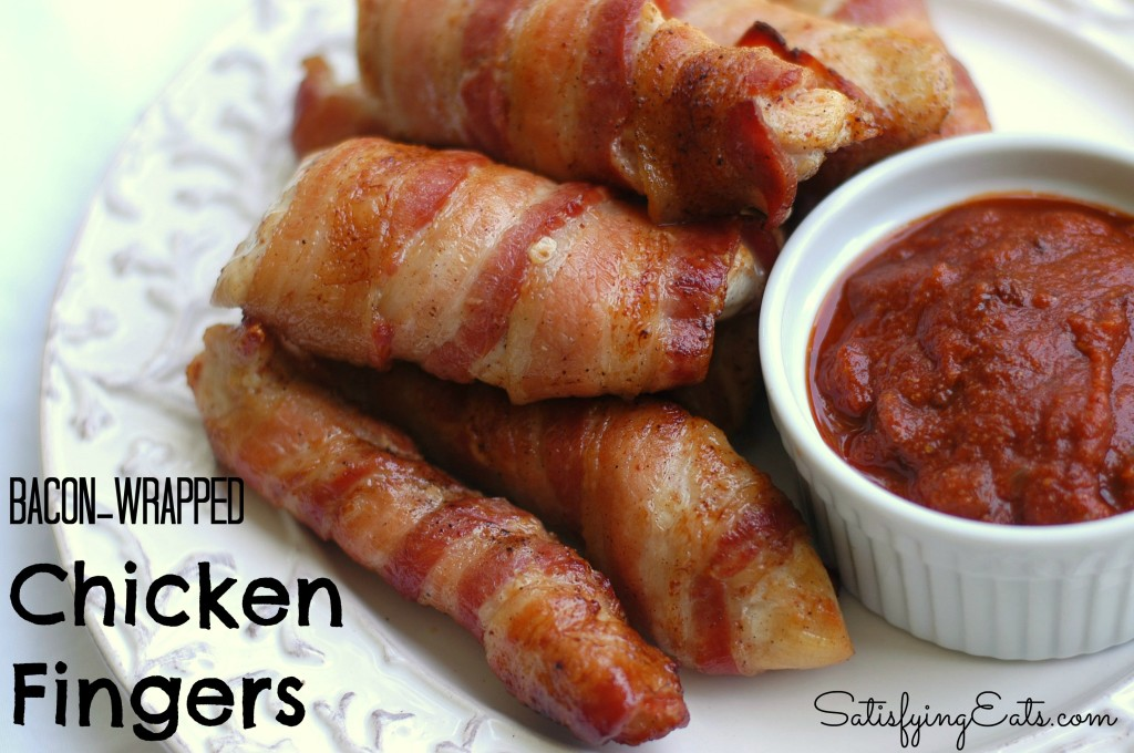 Bacon-Wrapped Chicken Fingers