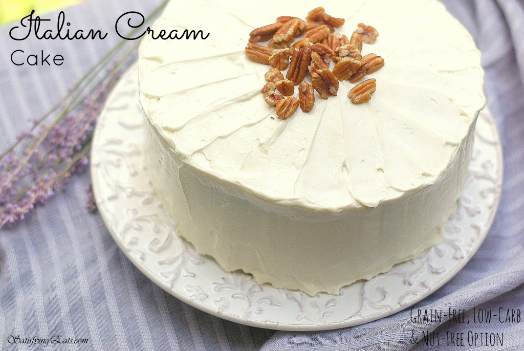 Italian Cream Cake 1