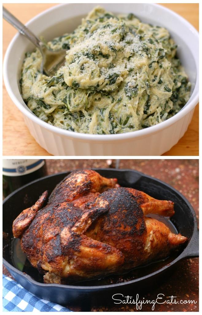 chicken spinach