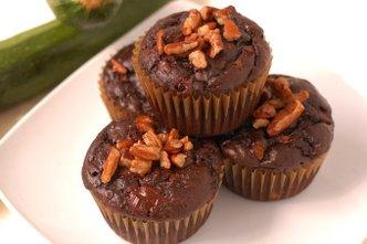 Chocolate Zucchini Muffins (Cupcakes)