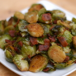 Bacon-Balsamic Brussels Sprouts