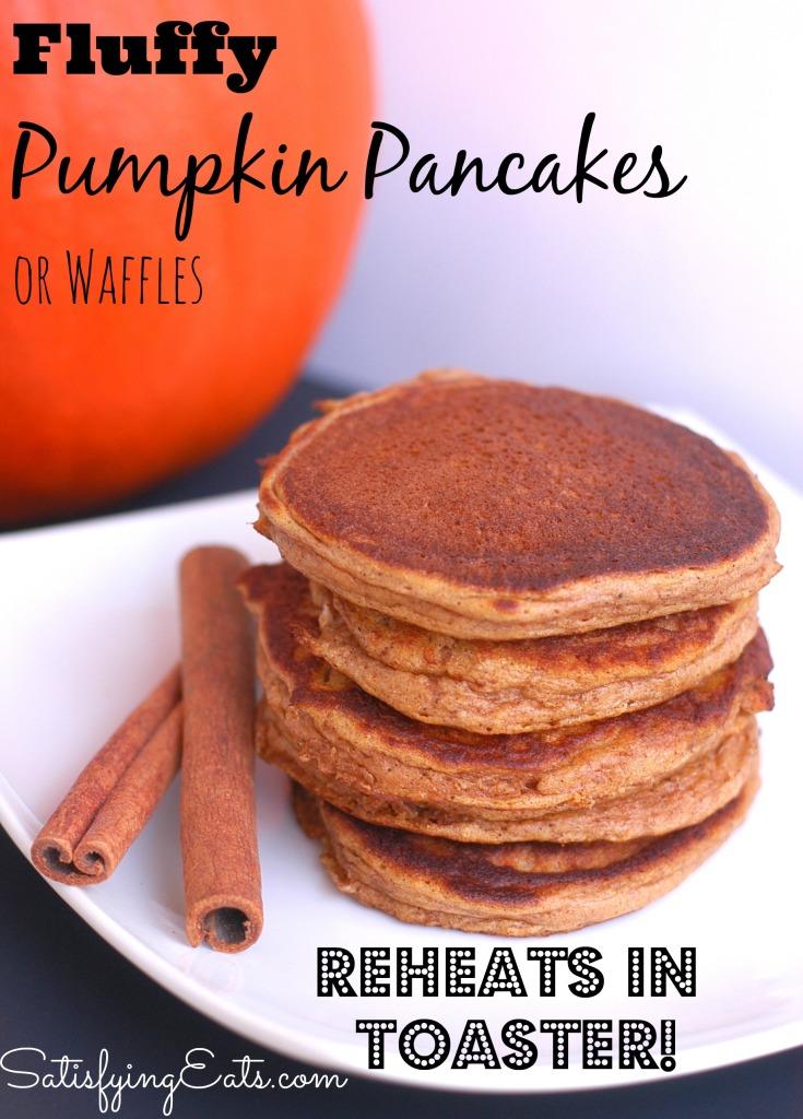 Pumpkin Pancakes Reheat