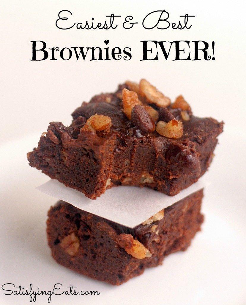 BFF Brownies: Easiest & Best Brownies EVER!!