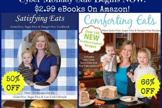 50% and 66% off my cookbooks…